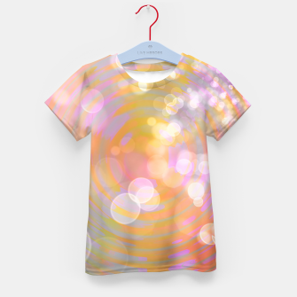 Thumbnail image of Abstract Flower Wave Bubbles Kid's t-shirt, Live Heroes