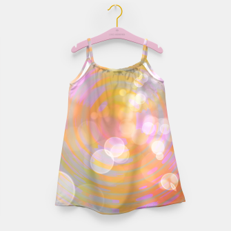 Thumbnail image of Abstract Flower Wave Bubbles Girl's dress, Live Heroes