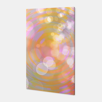 Thumbnail image of Abstract Flower Wave Bubbles Canvas, Live Heroes