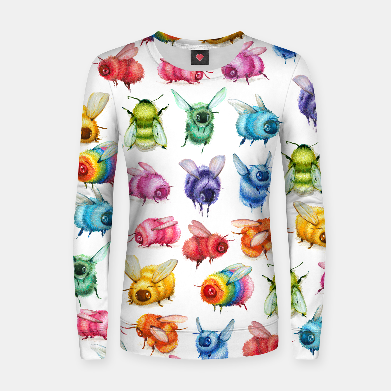 Image of Fuzzy Bee Fitted Sweatshirt - Live Heroes