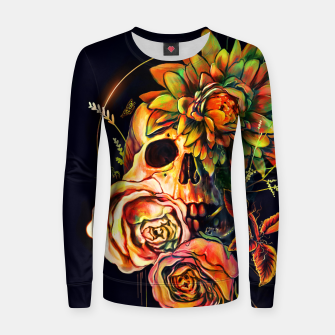 Thumbnail image of Life and Death Woman cotton sweater, Live Heroes