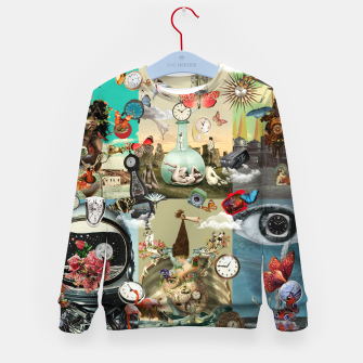 Miniaturka Collage XLVI Kid's sweater, Live Heroes