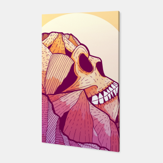Thumbnail image of Skull Mountain Canvas, Live Heroes