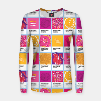 Thumbnail image of Pantone cafe Woman cotton sweater, Live Heroes