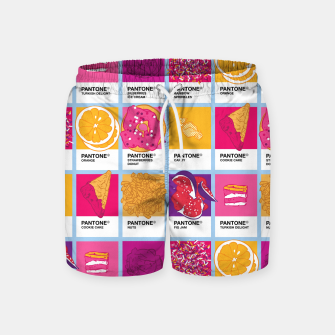 Thumbnail image of Pantone cafe Swim Shorts, Live Heroes