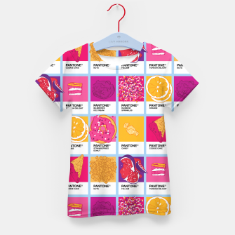 Thumbnail image of Pantone cafe Kid's t-shirt, Live Heroes