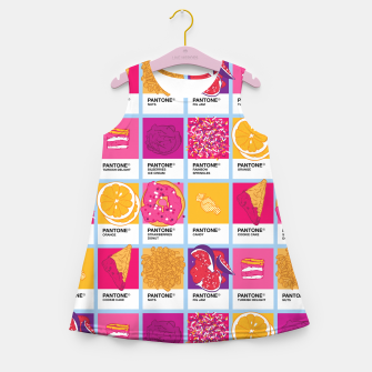 Miniature de image de Pantone cafe Girl's summer dress, Live Heroes