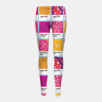 Thumbnail image of Pantone cafe Girl's leggings, Live Heroes