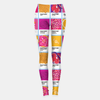Thumbnail image of Pantone cafe Leggings, Live Heroes