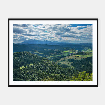 Thumbnail image of Mountains Plakaty w ramie , Live Heroes