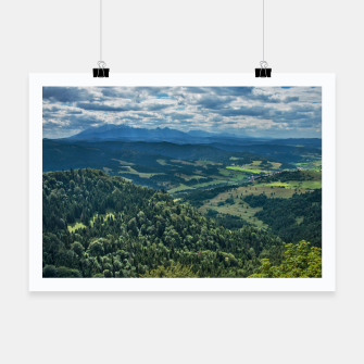 Thumbnail image of Mountains Plakat, Live Heroes
