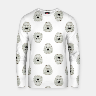 Miniaturka Angry Theater Mask  Pattern Cotton sweater, Live Heroes