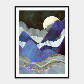 Thumbnail image of Midnight Framed poster, Live Heroes