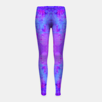 Thumbnail image of BBVP Abstract Girl's leggings, Live Heroes