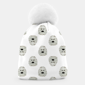 Miniature de image de Angry Theater Mask  Pattern Beanie, Live Heroes