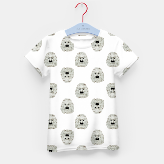 Miniature de image de Angry Theater Mask  Pattern Kid's t-shirt, Live Heroes