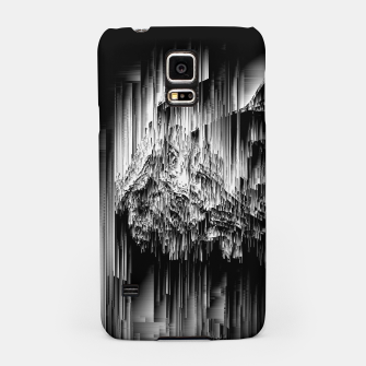 Haunted Static - Glitchy Pixel Abstract Art Samsung Case thumbnail image