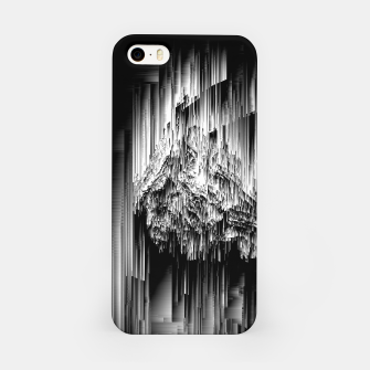 Haunted Static - Glitchy Pixel Abstract Art iPhone Case thumbnail image