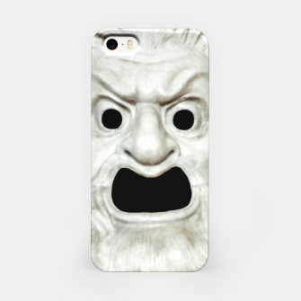 Miniature de image de Angry Theater Mask  iPhone Case, Live Heroes