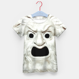 Miniature de image de Angry Theater Mask  Kid's t-shirt, Live Heroes