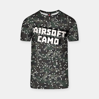 Miniatur Airsoft Camo T-shirt, Live Heroes