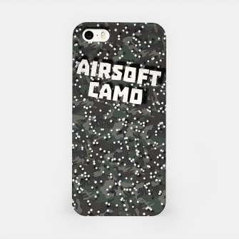 Miniatur Airsoft Camo iPhone Case, Live Heroes