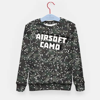 Miniatur Airsoft Camo Kid's sweater, Live Heroes