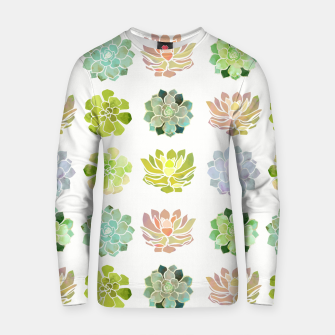Miniaturka Spring Succulents Cotton sweater, Live Heroes