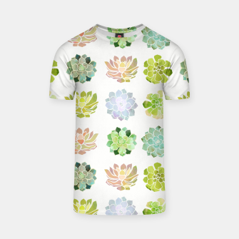 Thumbnail image of Spring Succulents T-shirt, Live Heroes