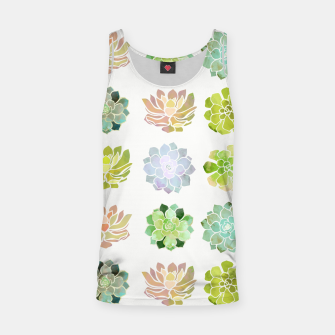 Thumbnail image of Spring Succulents Tank Top, Live Heroes