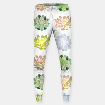 Thumbnail image of Spring Succulents Cotton sweatpants, Live Heroes