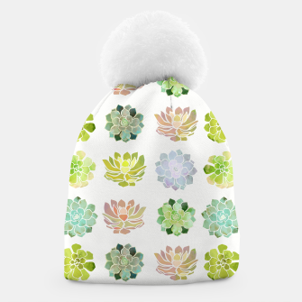 Thumbnail image of Spring Succulents Beanie, Live Heroes