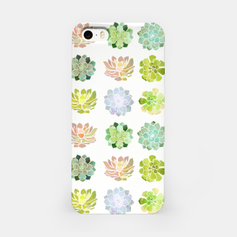 Thumbnail image of Spring Succulents iPhone Case, Live Heroes