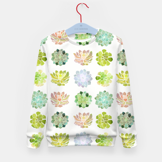 Thumbnail image of Spring Succulents Kid's sweater, Live Heroes