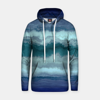 Thumbnail image of Stormy Weather Clouds Wave Cotton hoodie, Live Heroes