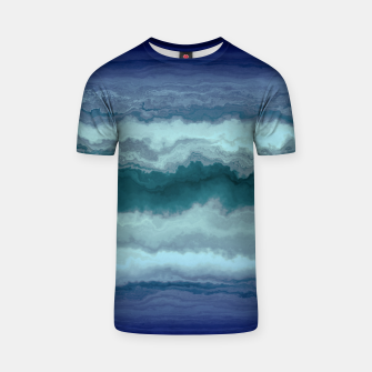 Thumbnail image of Stormy Weather Clouds Wave T-shirt, Live Heroes
