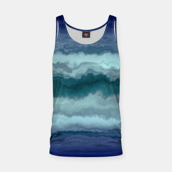 Thumbnail image of Stormy Weather Clouds Wave Tank Top, Live Heroes