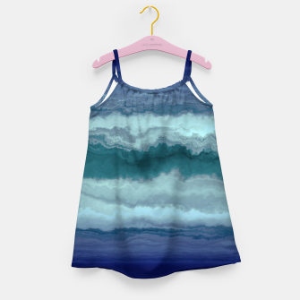 Thumbnail image of Stormy Weather Clouds Wave Girl's dress, Live Heroes