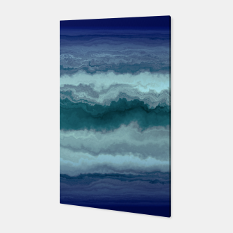 Thumbnail image of Stormy Weather Clouds Wave Canvas, Live Heroes