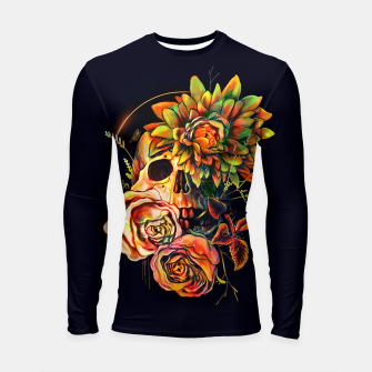 Thumbnail image of Life and Death Longsleeve rashguard , Live Heroes