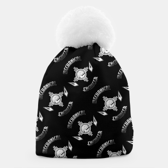Thumbnail image of Mechanical Engineer Retro Pattern Beanie, Live Heroes