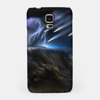 Thumbnail image of Meteors Fractal Art Samsung Case, Live Heroes