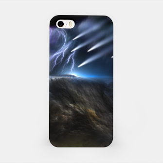 Thumbnail image of Meteors Fractal Art iPhone Case, Live Heroes