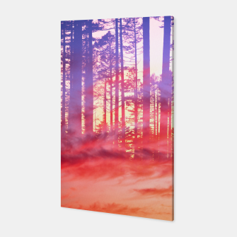 Thumbnail image of Artistic CVI - Dreamy Clouds Forest Canvas, Live Heroes
