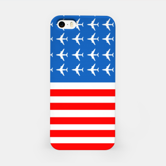 Thumbnail image of USA Airplane Flag iPhone Case, Live Heroes
