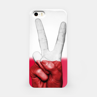 Miniaturka Poland Fingers Flag iPhone Case, Live Heroes