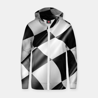 Thumbnail image of Formula Rally Flag Cotton zip up hoodie, Live Heroes