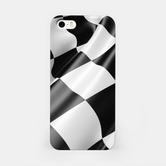 Thumbnail image of Formula Rally Flag iPhone Case, Live Heroes
