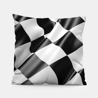 Thumbnail image of Formula Rally Flag Pillow, Live Heroes
