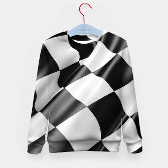 Thumbnail image of Formula Rally Flag Kid's sweater, Live Heroes
